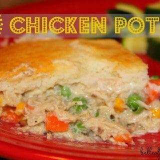 Skinny Chicken Pot Pie {Belle of the Kitchen}
