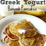 Greek Yogurt Banana Pancakes