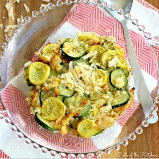 Belle of the Kitchen: Zucchini & Yellow Squash Gratin