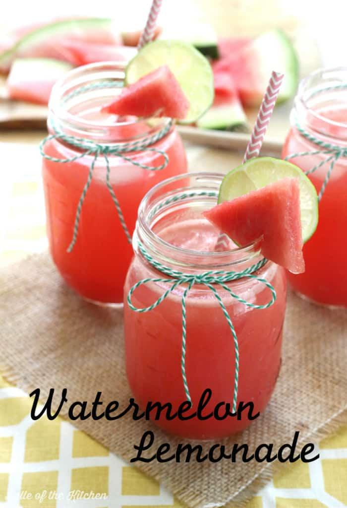 Belle of the Kitchen | Watermelon Lemonade