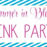 Summer In Bloom Link Party