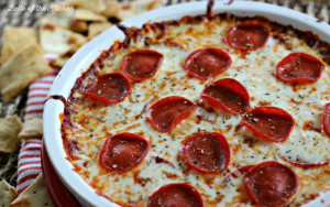 Belle of the Kitchen | Pepperoni Pizza Dip