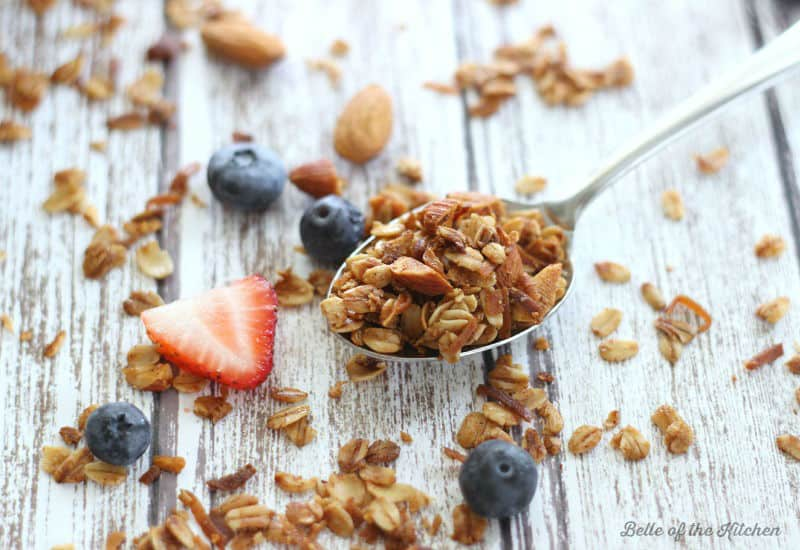 Belle of the Kitchen | Maple Coconut Granola
