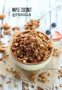 Belle of the Kitchen | Maple Coconut Granola