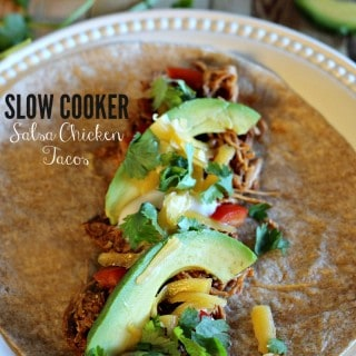 Belle of the Kitchen | Slow Cooker Salsa Chicken Tacos