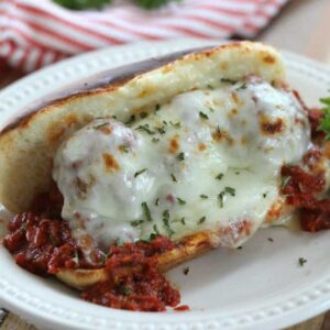 Parmesan Meatball Sandwiches Recipe