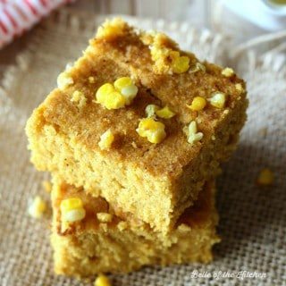 A delicious mashup of pumpkin and cornbread that is also #glutenfree #vegan #sugarfree and #dairyfree!