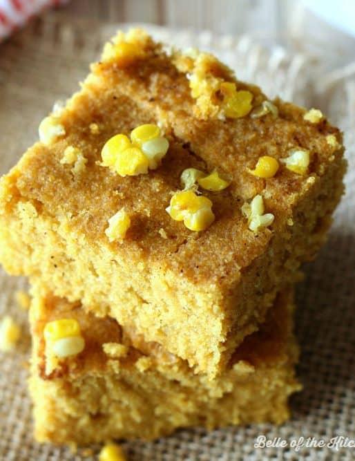 Pumpkin Cornbread Recipe {Gluten Free, Dairy Free}