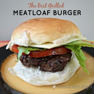 The Best Grilled Meatloaf Burgers - Kenarry: Ideas for the Home