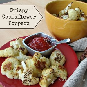 Crispy Cauliflower Poppers - Kenarry: Ideas for the Home