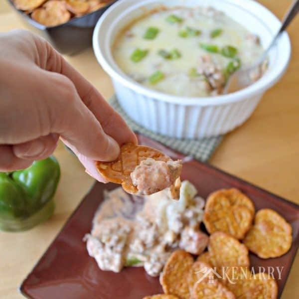 Easy Cheesy Green Pepper Dip - Kenarry: Ideas for the Home for Belle of the Kitchen