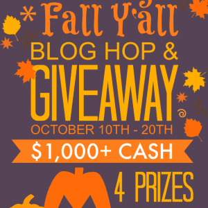 All Things Fall Y'all Blog Hop & Giveaway 4 prizes | Belle of the Kitchen