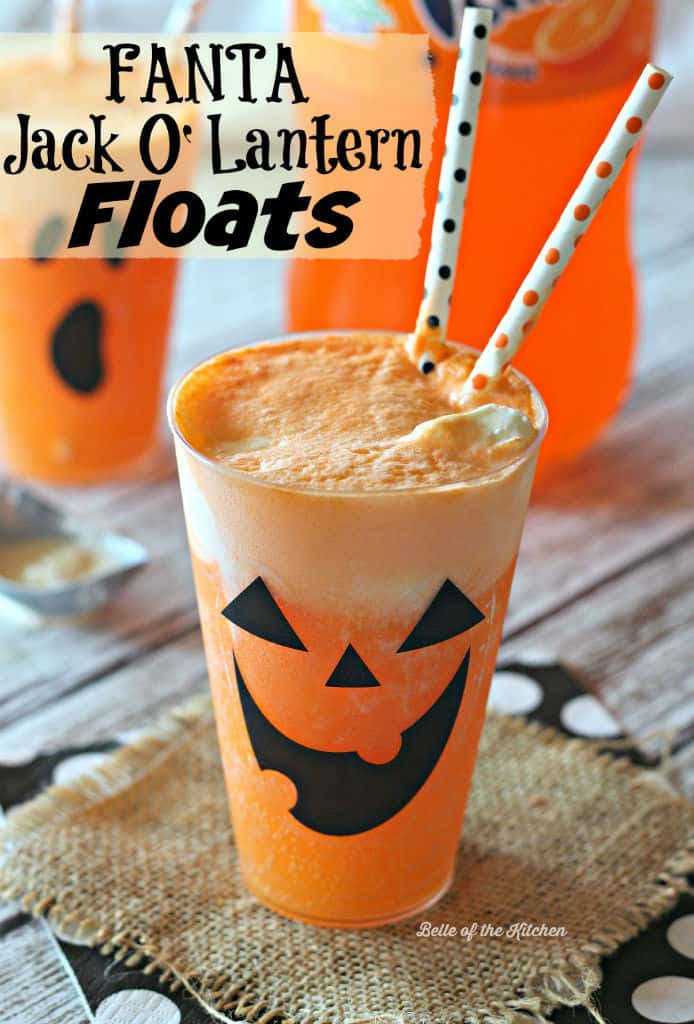 Fanta Jack Olantern Floats Belle Of The Kitchen
