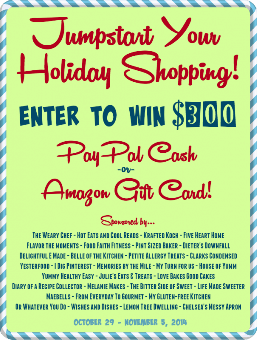 Jumpstart Your Holiday Shopping Giveaway