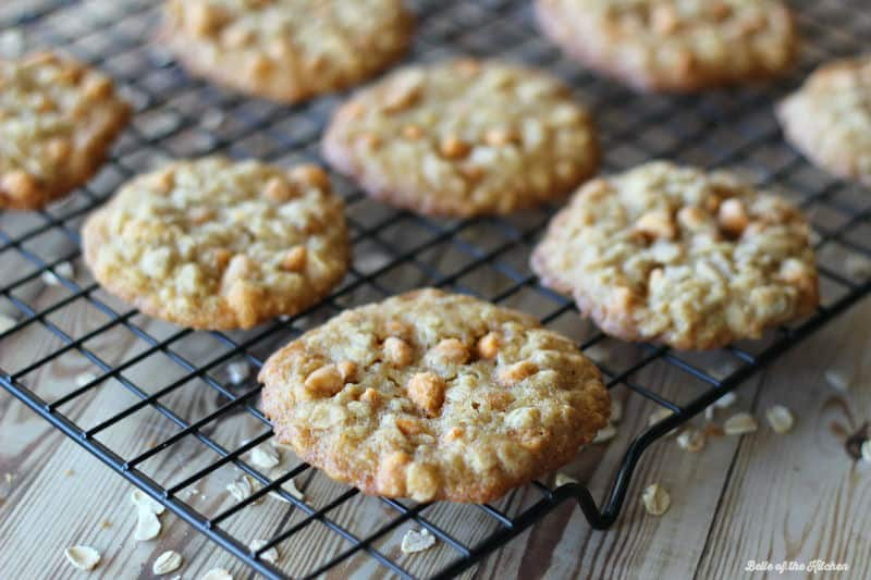 Oatmeal Butterscotch Cookies – Perfectly chewy cookies filled with ...