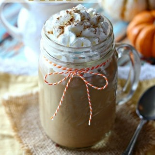 Enjoy all the flavors of fall right at home with this Pumpkin Spice Coffee. It's quick and easy, making it the perfect pick-me-up for both you and your guests this Thanksgiving.