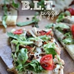 Turkey Ranch BLT Pizza