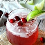 Cranberry Limeade Spritzer with 7UP®