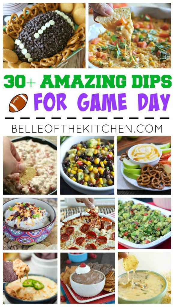 What could make game day snacking any better than an array of delicious dips to choose from? Come and check out this collection of drool-worthy dip recipes!