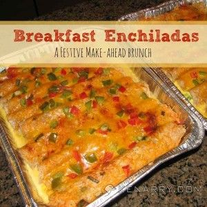 Breakfast Enchiladas on Kenarry: Ideas for the Home