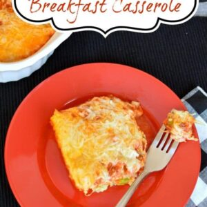 Pizza Breakfast Casserole