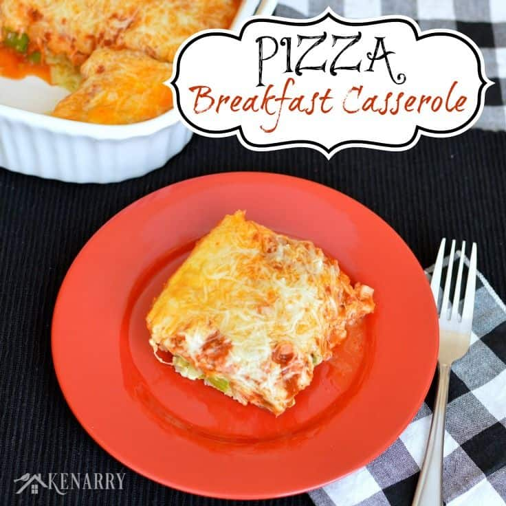 We all love pizza, but who says it's just for dinner? Try this Pizza Breakfast Casserole, a delicious, easy, make-ahead recipe the whole family will enjoy.