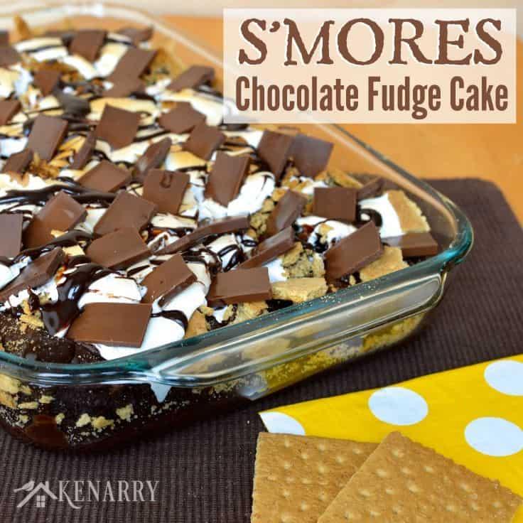 Graham Cracker Marshmallow Chocolate Bars