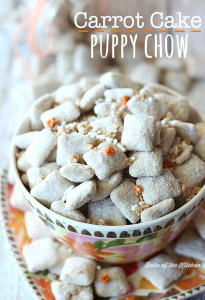 Carrot Cake Puppy Chow Recipe | Belle of the Kitchen