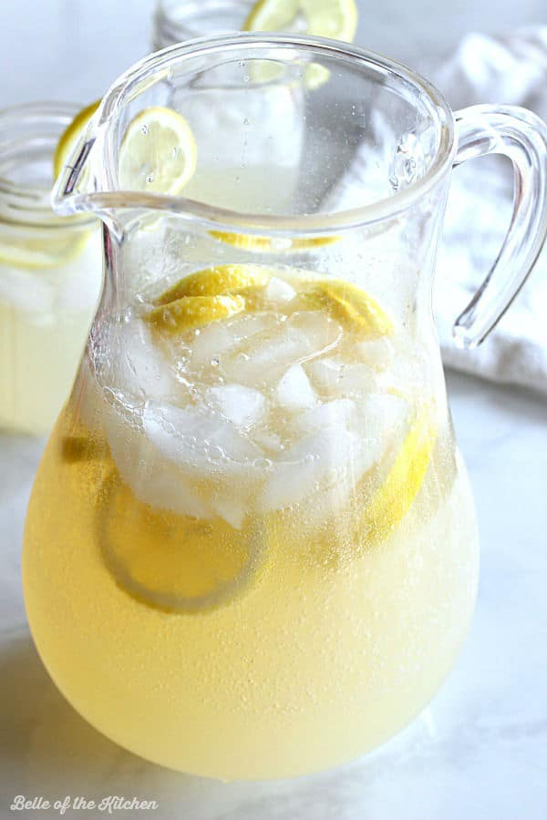 Fizzy Ginger Lemonade Recipe — Dishmaps