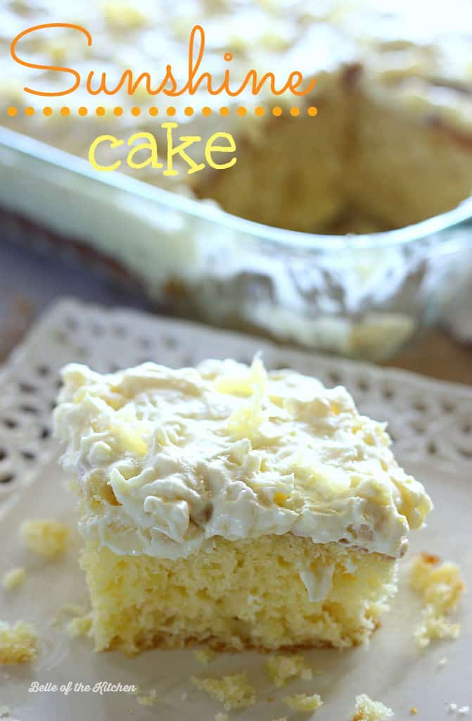 Easy Pineapple Sheet Cake With Pineapple Recipe