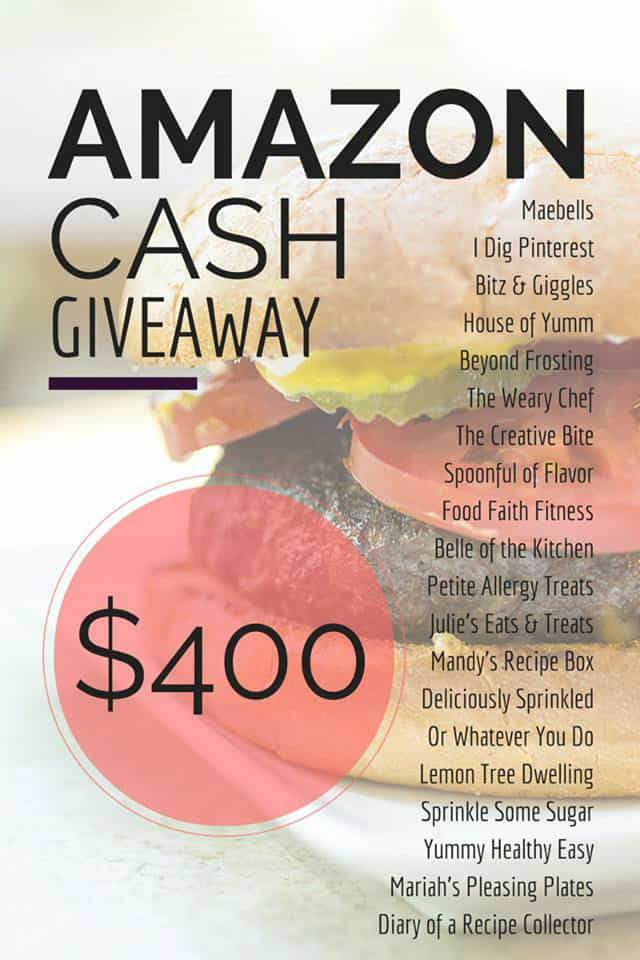 Amazon Gift Card Giveaway | Belle of the Kitchen