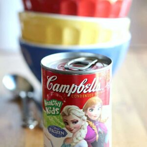 #SouperPower Up with Disney themed Campbell's Soups, featuring Anna and Elsa from Frozen!