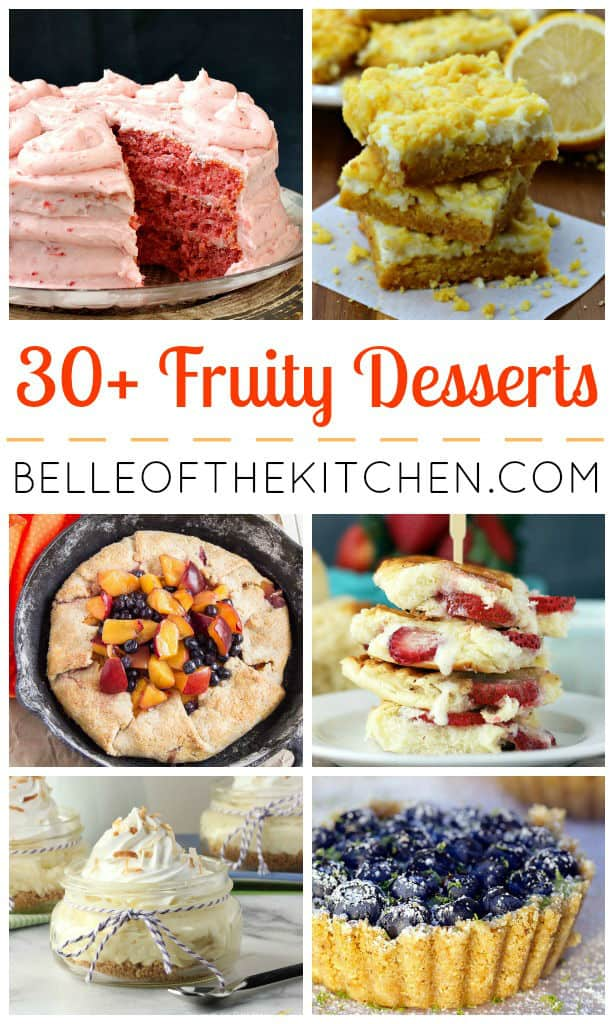 Now that spring has sprung, it's time to break out the fresh and fruity desserts!