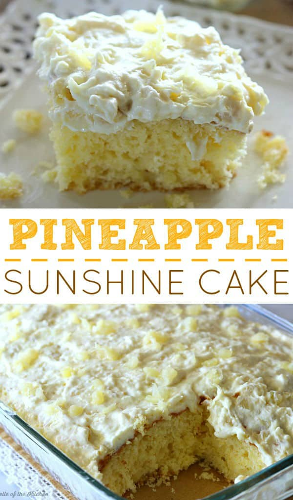 Coconut Pineapple Cake With Cream Cheese Using Box