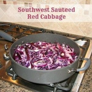 Southwest Sauteed Red Cabbage from Kenarry: Ideas for the Home