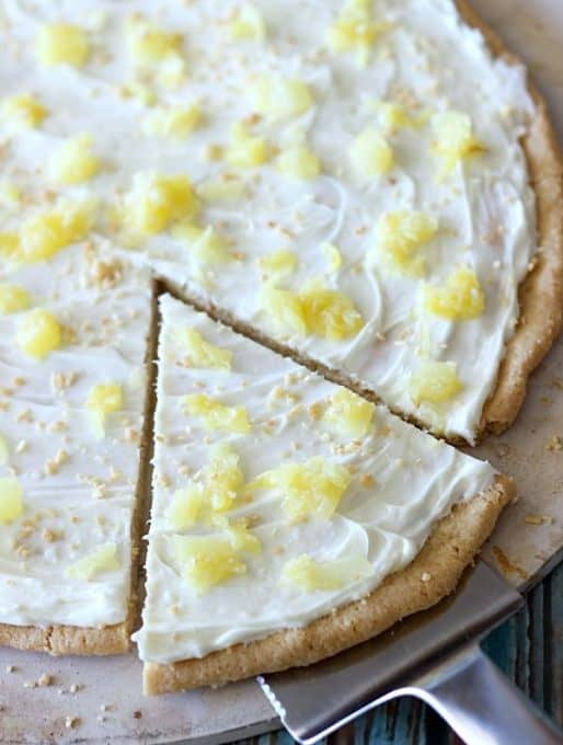 Piña Colada Fruit Pizza