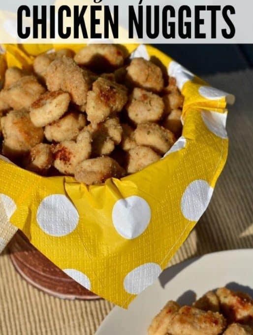 Homemade Popcorn Chicken Nuggets