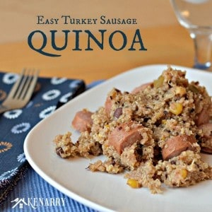 Easy Turkey Sausage Quinoa from Kenarry: Ideas for the Home