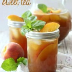 Peach Sweet Tea
