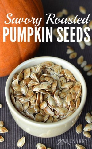 Savory Roasted Pumpkin Seeds - Kenarry: Ideas for the Home