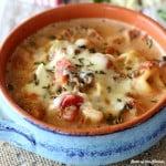 Creamy Tortellini Fagioli Soup