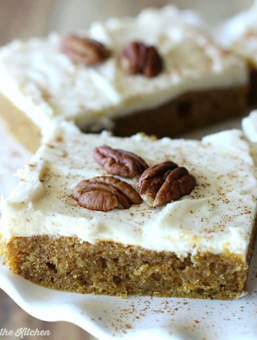 Pumpkin Sheet Cake Recipe