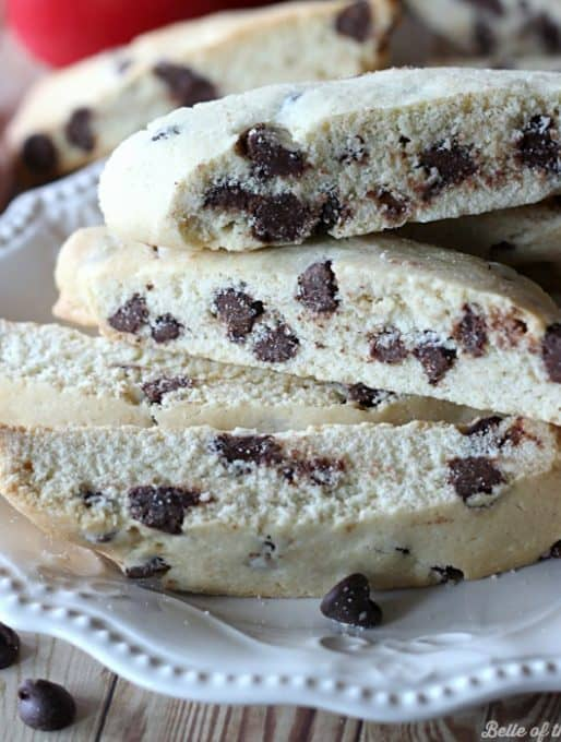 Chocolate Chip Biscotti Recipe and Coffee Gift Basket Idea