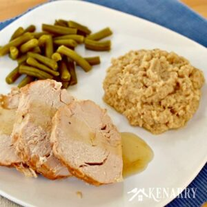 Slow Cooker Turkey With Garlic Mashed Cauliflower