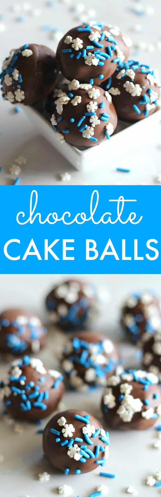 Chocolate Cake Balls Recipe - Belle of the Kitchen