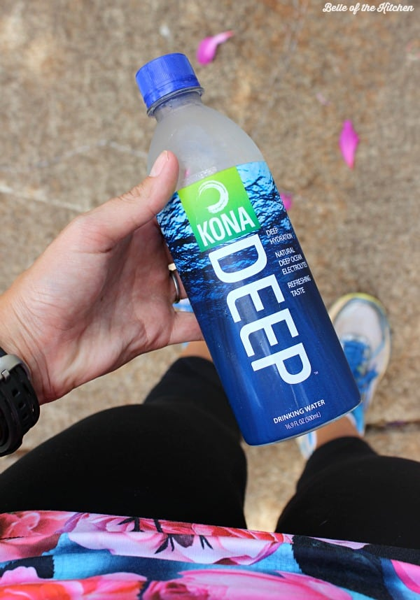Need to drink more water? This Watermelon Basil Infused Water is so refreshing, and hydrates you with natural electrolytes when made with Kona Deep.