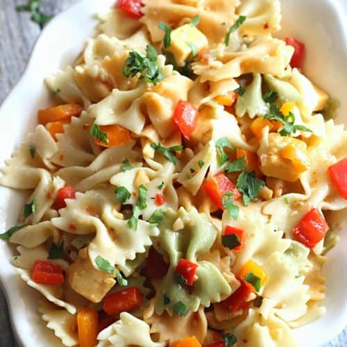 Easy Pasta Salad Recipe Belle Of The Kitchen