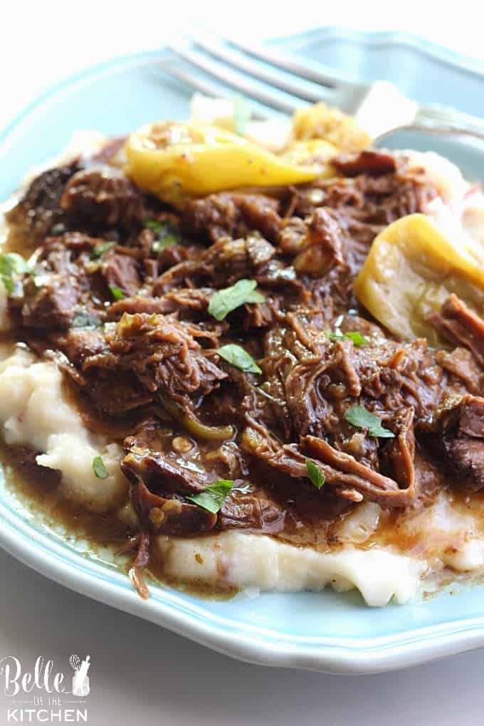 Mississippi Pot Roast - The most delicious pot roast you will EVER eat!