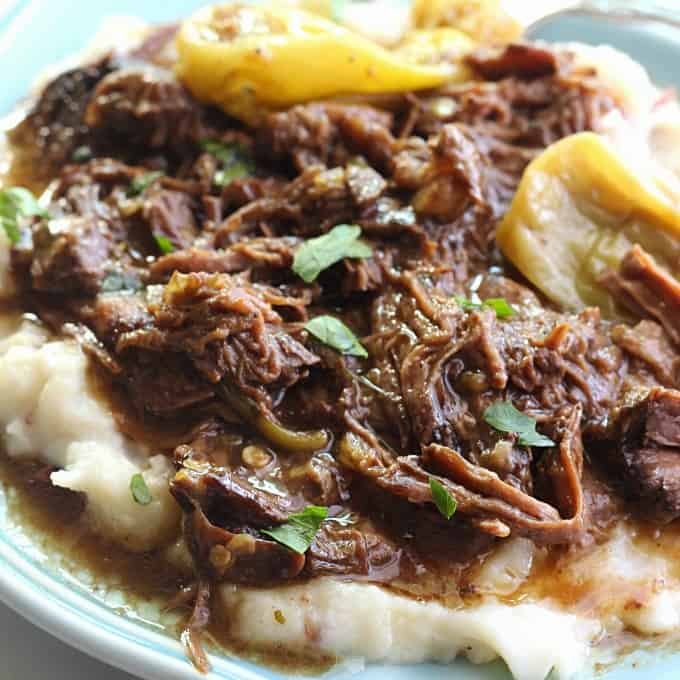 Mississippi pot roast the best pot roast ever belle of the kitchen mississippi pot roast the most delicious pot roast you will ever eat made with forumfinder