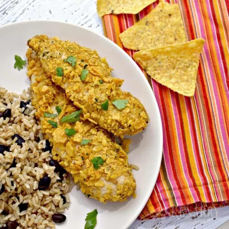 tortilla crusted chicken recipe